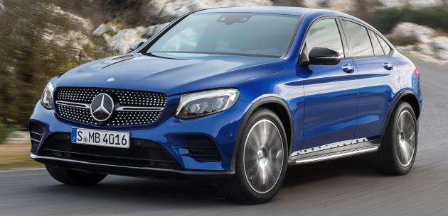 Mercedes-Benz GLC Coupe Avrupa'da Satışta