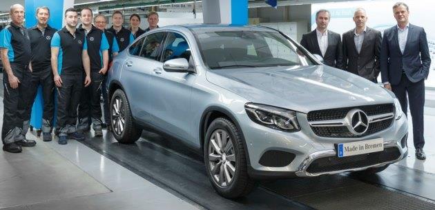 Mercedes GLC Coupe �retimi Ba�lad�