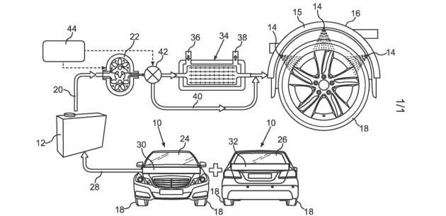 Mercedes Lastik i�in Patent Ald�
