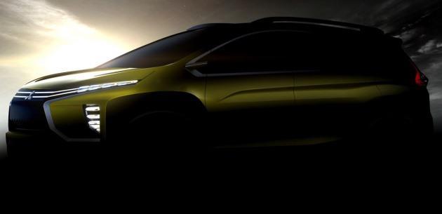 Mitsubishi'nin Crossover MPV Konseptinden Yeni �pucu