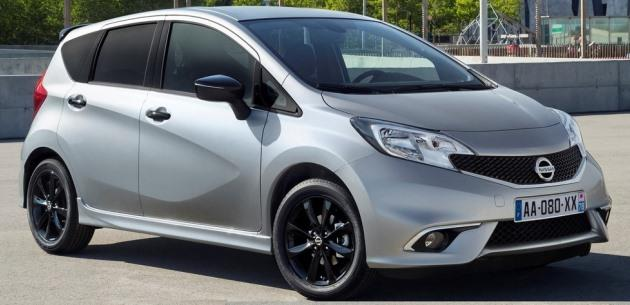 Nissan Note i�in Black Edition