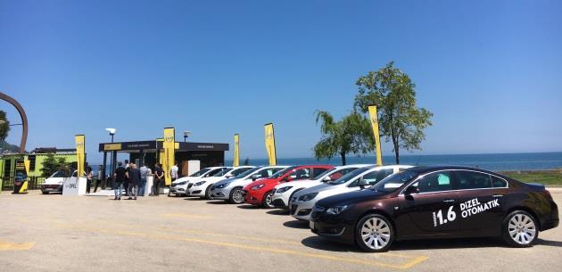 Opel 1.6 Dizel Otomatik Ailesi T�rkiye Turunda