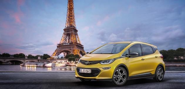 Opel Ampera-e Pr�miyeri Paris�te Yap�lacak