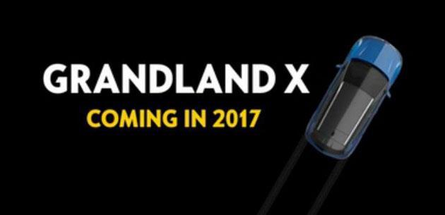 Opel'den yeni kompakt crossover: Grandland X