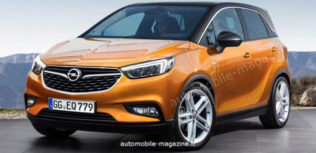 Opel Meriva�n�n yerine �yumu�ak� crossover gelecek