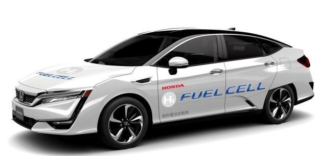 Otonom Honda Clarity Fuel Cell Ortaya ��kt�