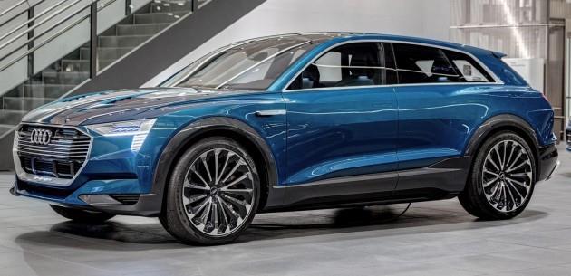 Q6'n�n elektrikli gelece�ini g�steren Audi e-tron quattro konsepti