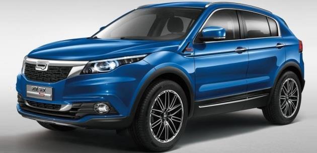 Qoros 5 SUV Guangzhou Motor Show'da