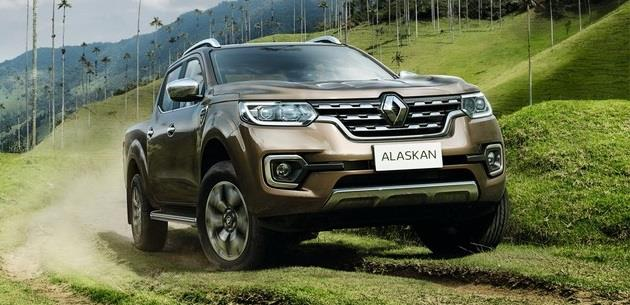 Renault yeni pick-up modelini g�n y�z�ne ��kar�yor: ALASKAN