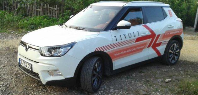 Ssangyon Tivoli 1 6 Benzinli Otomatik Test Yorum Inceleme