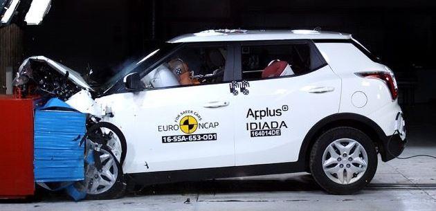 Ssangyong Tivoli Euro NCAP'te Zorlandı