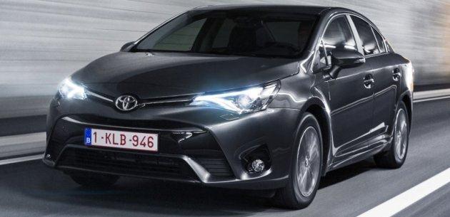 Toyota Avensis 2015 Fiyat Listesi Açiklandi