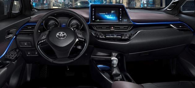 Toyota C-HR'nin Kabini G�r�nd�