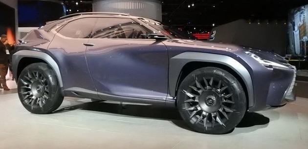 Lexus UX konsepti 2017 Detroit'te