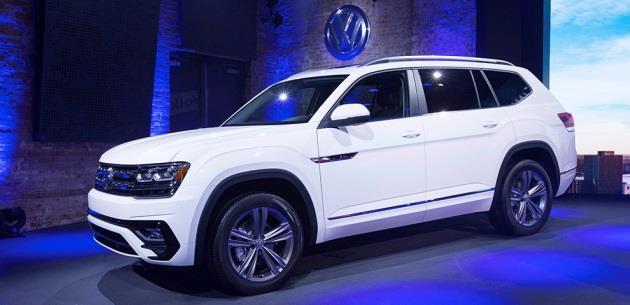 Volkswagen 2017 Detroit'te Atlas ve uzun versiyon Tiguan'ı tanıttı
