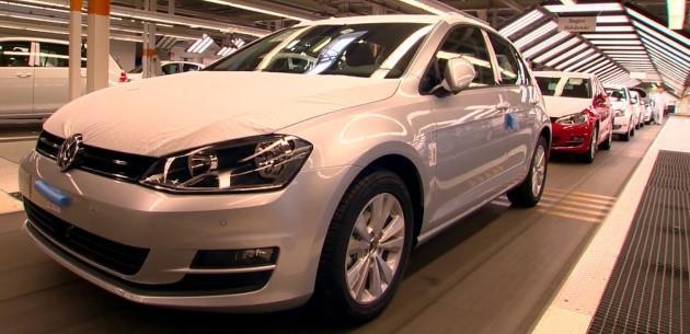 Volkswagen Golf �retimi Yeniden Ba�l�yor