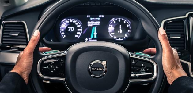 Volvo S�r�c�s�z Otomobiller ��in Yeni Aray�z
