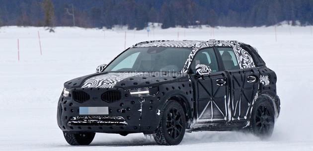 Yeni Volvo XC40 kış testinde görüntülendi
