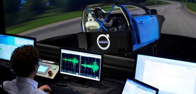 Volvo'da Yeni �asi Sim�lat�r�