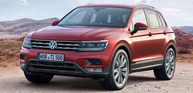 VW Tiguan 2016 Tasar�m Detaylar� ve �zellikleri