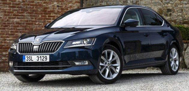 YEN� 2015 SKODA SUPERB SHOWROOM'LARDA