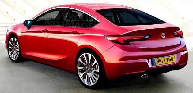 Yeni 2017 Opel Insignia'nın prömiyeri 2016 Paris'te