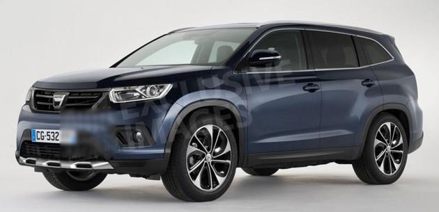 Yeni 7 koltuklu Dacia Duster SUV, 2018'de çıkacak