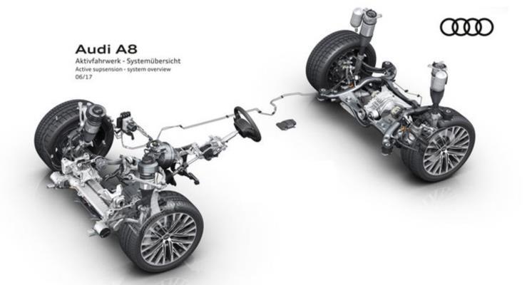 Yeni Audi A8'e bakış