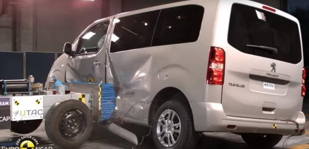 Yeni Citroen Spacetourer, Peugeot Traveller ve Toyota Proace EuroNCAP Testinden Geçti