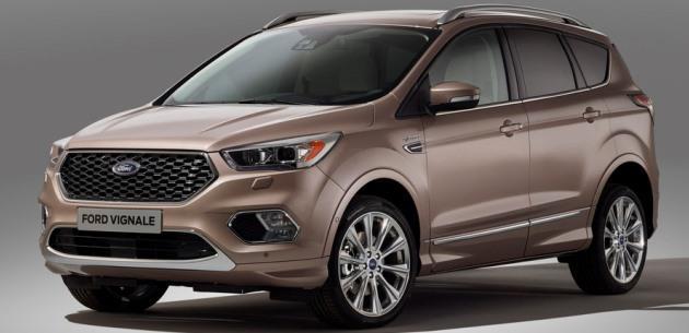 Yeni Ford Kuga Vignale geliyor
