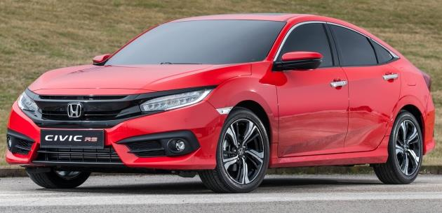 Yeni Honda Civic Rs Türkiyede