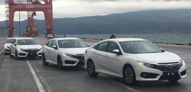 Yeni Honda Civic Sedan'ın ihracatına başlandı