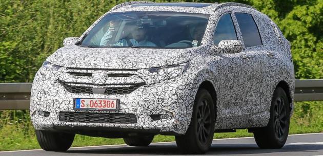 Yeni Honda CR-V 2018�de Avrupa'ya Geliyor