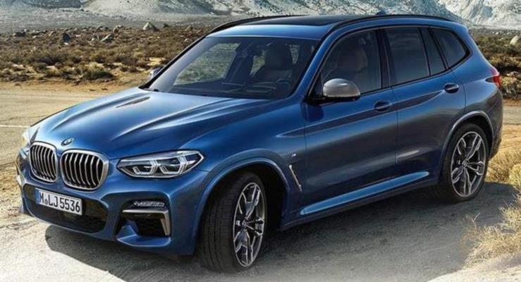 Yeni kasa 2018 BMW X3'ten ilk görüntüler