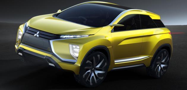 Yeni kasa Mitsubishi ASX'in �nc�s�; Ex Compact Crossover Konsept