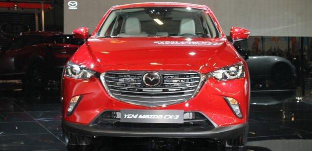 YEN� MAZDA CX-3 T�RK�YE PROM�YER� 2015 AUTOSHOW'DA YAPILDI