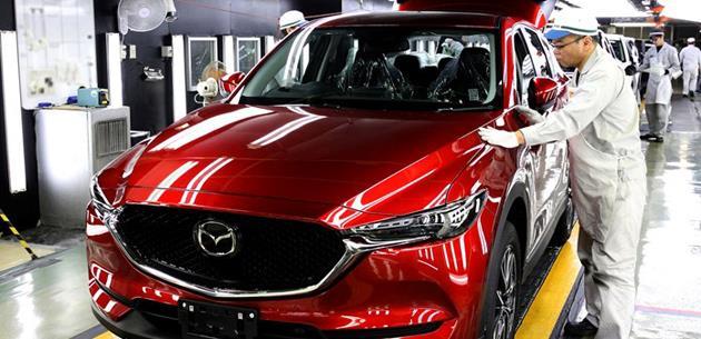 Yeni 2017 Mazda CX-5 üretimi Japonya'da başladı