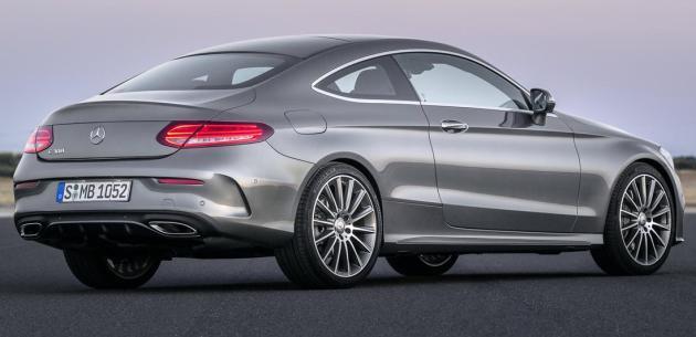 Yenİ Mercedes C Coupe Nİn Motor Gami