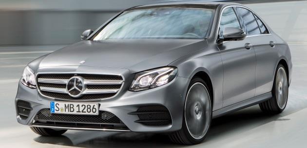 Yeni Mercedes E Serisi'nde 1.6 Motorlu E180 Seçeneği