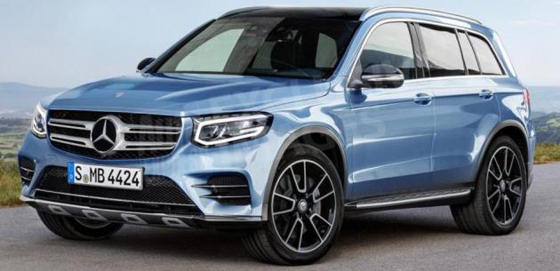 Yeni Mercedes Glb Markann Crossover Serisine Katlyor