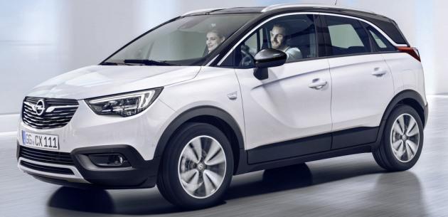 Yeni Opel Crossland X Özellikleri ve Detayları