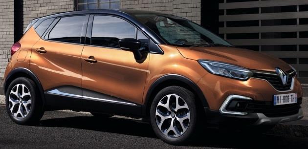 Yeni Renault Captur 2017 Cenevre'de Detaylandı