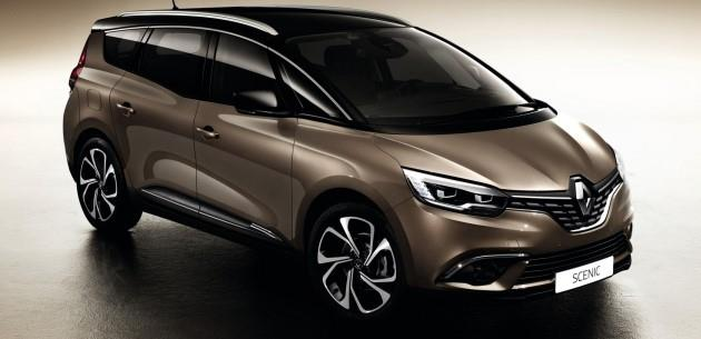 Yeni Renault Grand Scenic'in �lk Detaylar�