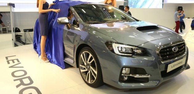 YEN� SUBARU LEVORG'UN �RT�S� 2015 AUTOSHOW'DA KALKTI