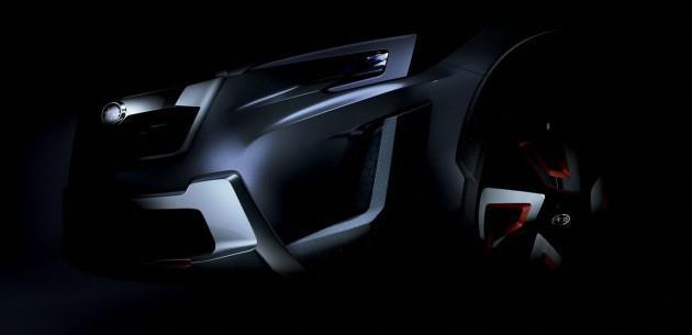 Yeni Subaru XV'nin �nc�s�; 2016 XV Concept