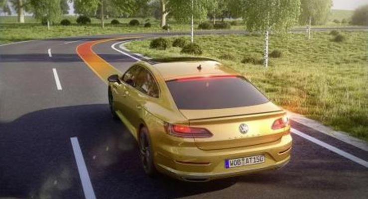 Yeni Volkswagen Arteon: Uyumlanabilir Seyir Kontrolü ACC
