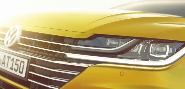 Yeni VW Arteon 2017 Cenevre'de Olacak