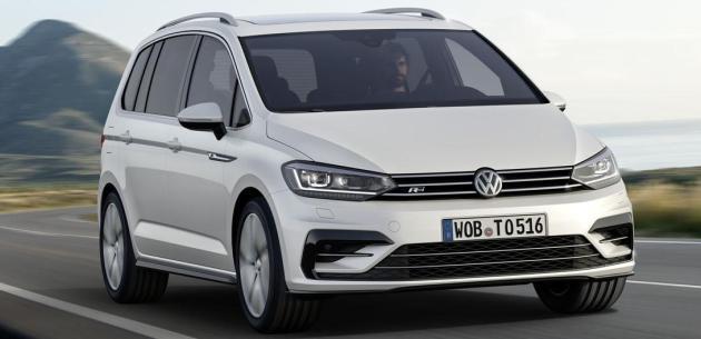 Yeni VW Touran R-Line Detayland�