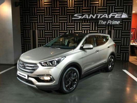 2016 Hyundai Santa Fe >> 2016 Hyundai Santa Fenin Ilk Goruntuleri Resim 1