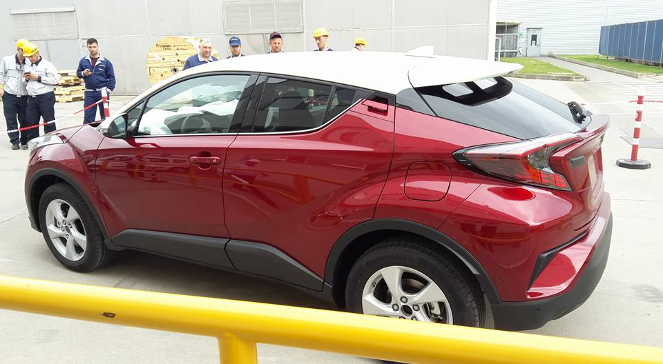 Toyota C-HR İlk Üretim Resim Galerisi